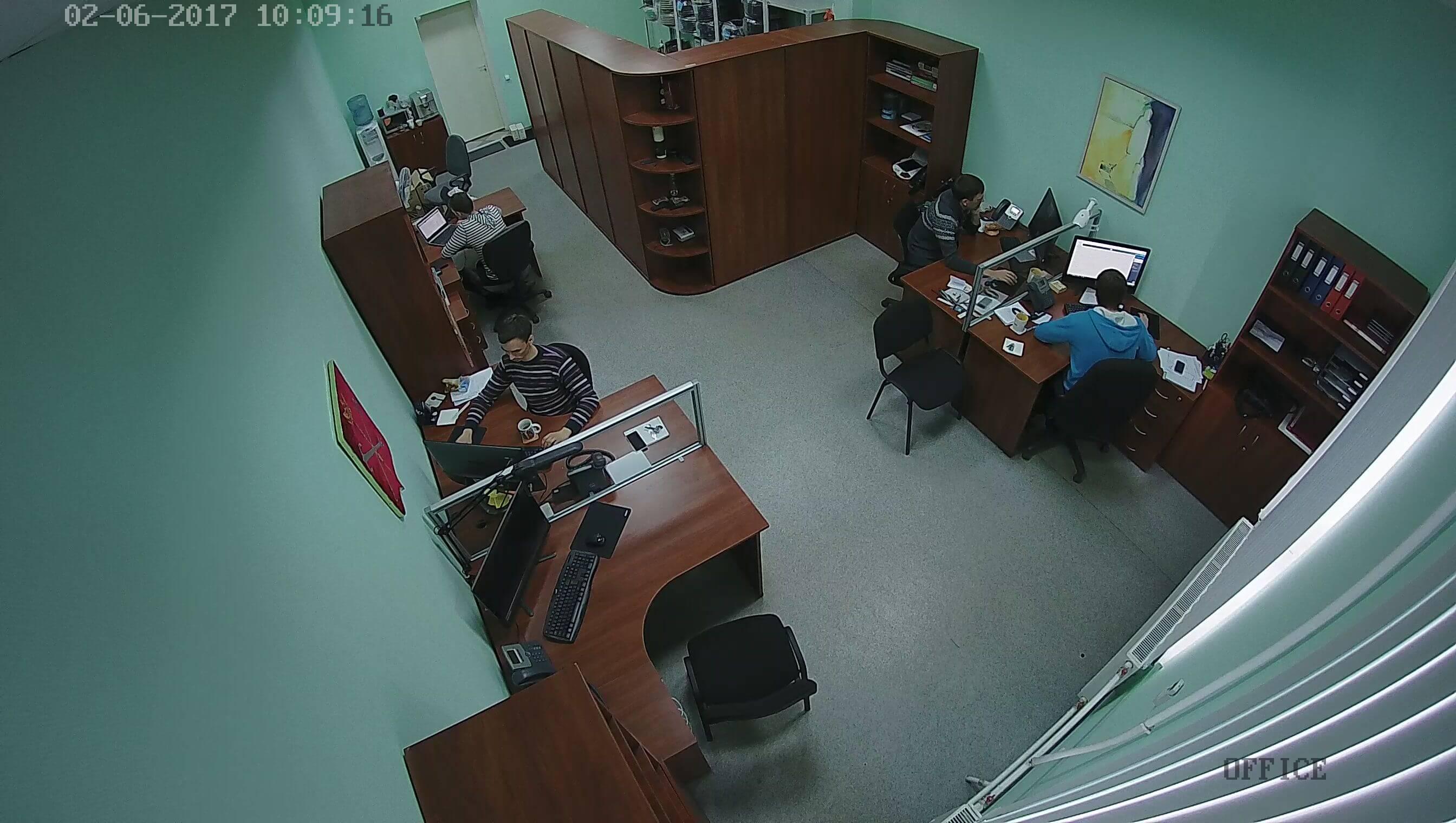 Офис компании CCTV+