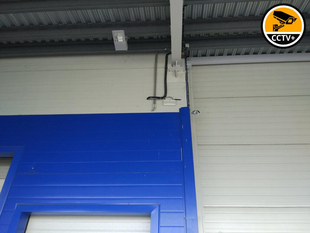 Монтаж WiFi на складе VICI