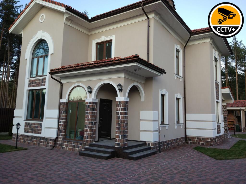 Монтаж СВН в частном доме Охта Парк